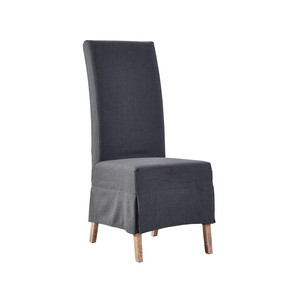 Slate Linen Slipcovered Parsons Chair | Furniture Classics