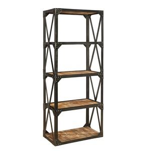 Bleecker Recycled Narrow Bookcase | Furniture Classics