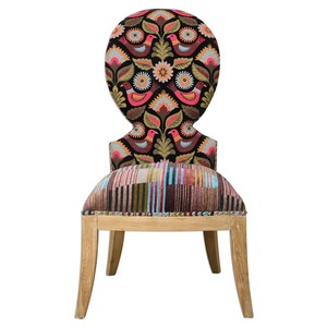 Cruzita Armless Chair | The Uttermost Company