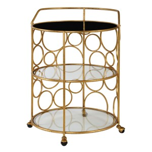 Xandra Serving Cart | The Uttermost Company