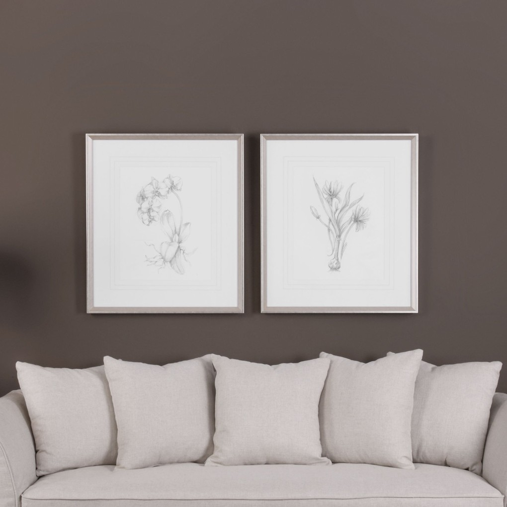 Botanical Sketches Art | The Uttermost Company