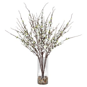 Quince Blossoms Silk Centerpiece Botanical | The Uttermost Company