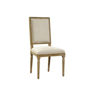 Linen and Oak Side Chair | Furniture Classics