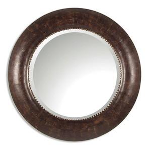 Leonzio Leather Mirror | The Uttermost Company