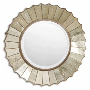 Amberlyn Sunburst Gold Mirror | The Uttermost Company