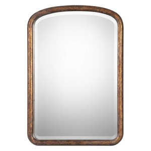 Vena Gold Arched Mirror | The Uttermost Company