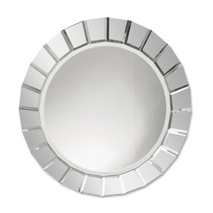 Fortune Frameless Round Mirror | The Uttermost Company