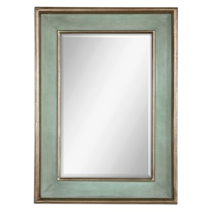 Ogden Blue Antique Mirror
