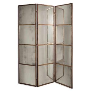 Avidan Three Panel Screen Mirror