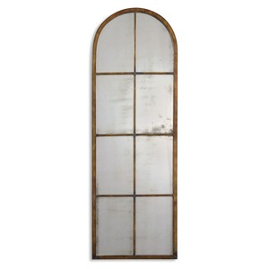 Amiel Arched Brown Mirror | The Uttermost Company