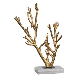 Golden Coral Sculpture | The Uttermost Company