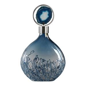 Rae Sky Blue Vase   The Uttermost Company