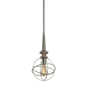 Amira 1-Light Mini Pendant | The Uttermost Company