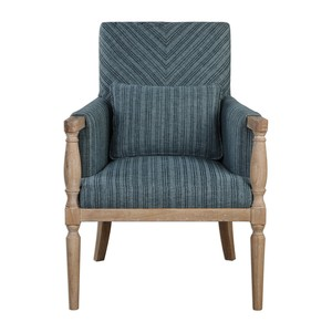 Seamore Pattern Arm Chair | The Uttermost Company