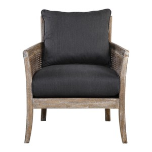 Encore Dark Gray Arm Chair | The Uttermost Company