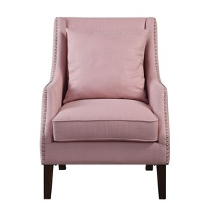 Arieat Pink Arm Chair