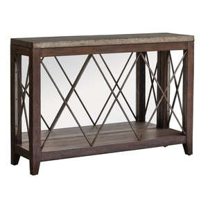 Delancey Iron Console Table | The Uttermost Company