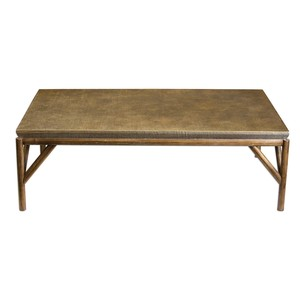 Kanti Metallic Champagne Coffee Table | The Uttermost Company