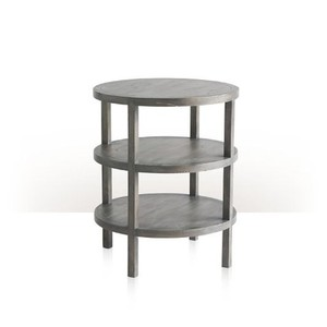 Hemway Round End Table | Theodore Alexander