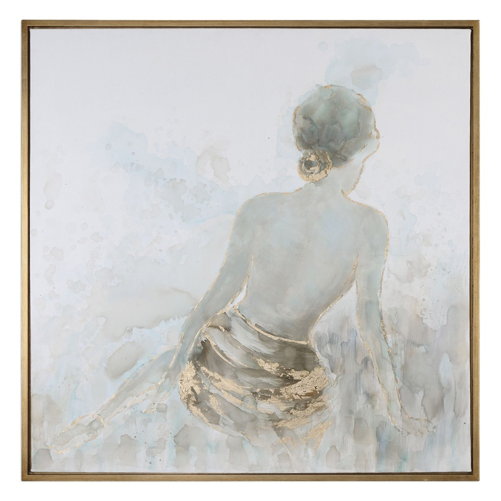 Gold Highlights Feminine Art | The Uttermost Company