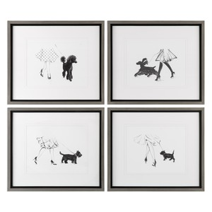 Perfect Companions Canine Prints - Set of Four | The Uttermost Company