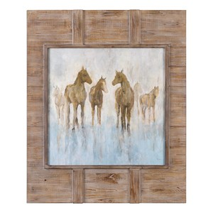 Headed to the Barn Horse Print | The Uttermost Company