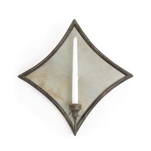 Diamond Mirrored Sconce