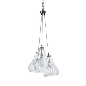 Triple Bell Pendant Light