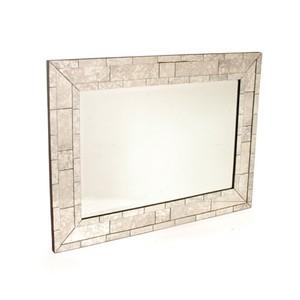 Antique Brick Mirror