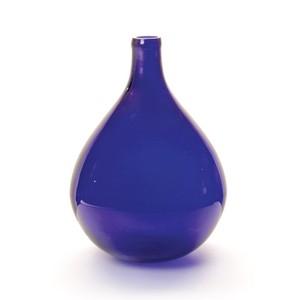 Cobalt Demijohn Vase