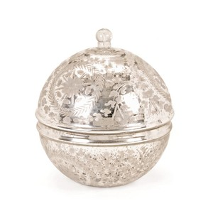 Vintage Silver Covered Sphere