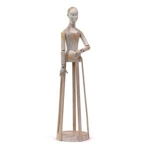 Blanco Madame Sculpture