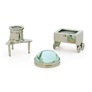 Set of Three Jewelers Magnifiers | Park & Main