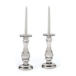 Pair of Roaring 20's Candle Holders | Park & Main
