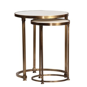 Clifford Side Tables, Set/2   Dovetail