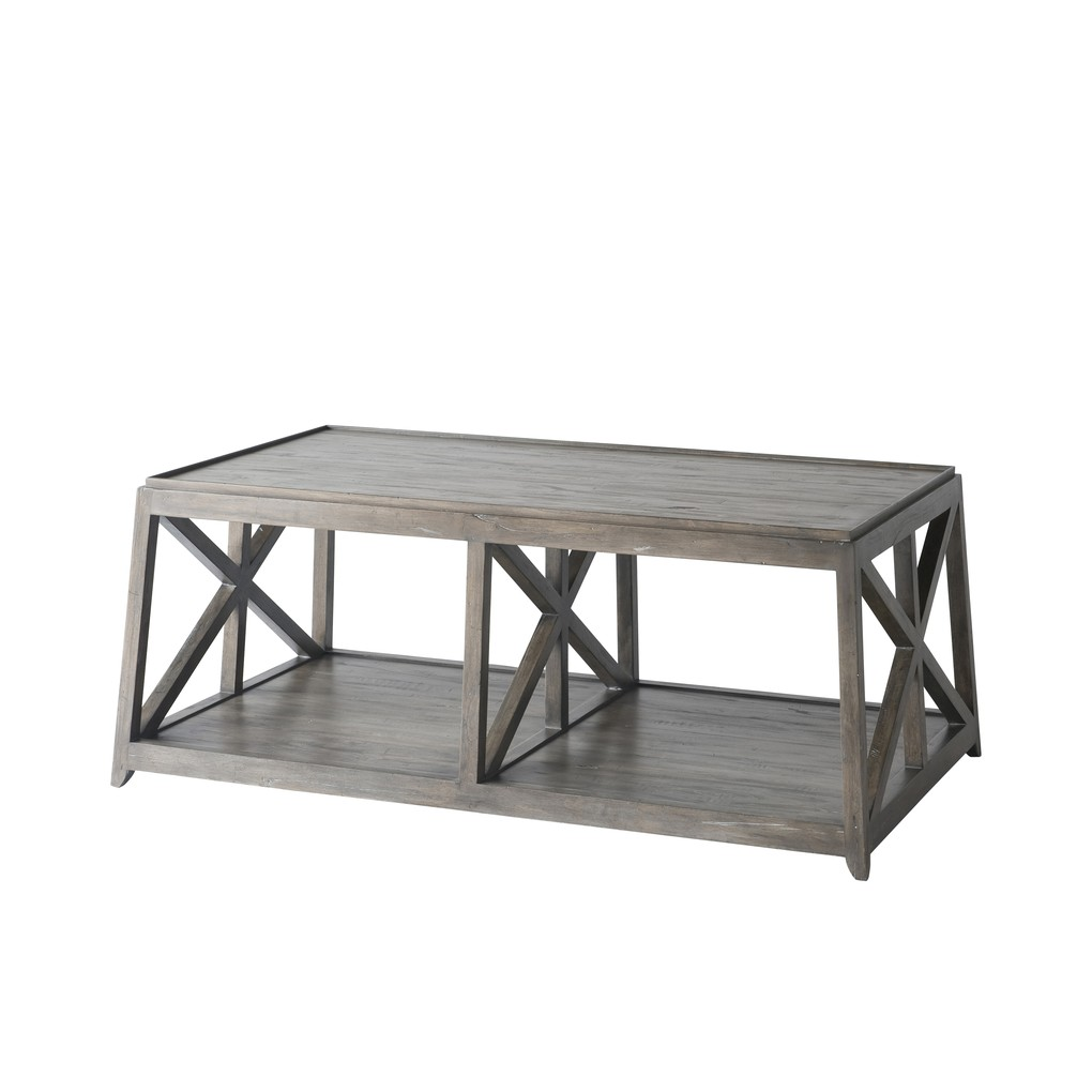 Laidley Cocktail Table | Theodore Alexander