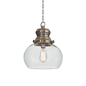 Rotundo Glass Hanging Light | Park & Main