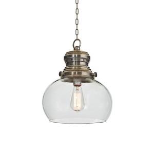 Rotundo Glass Hanging Light | Park & Main