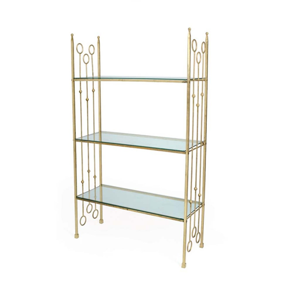 New Castle Iron Ring Bookcase | Park & Main