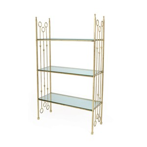 New Castle Iron Ring Bookcase