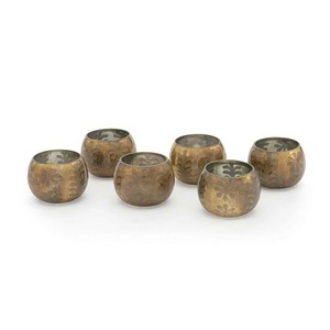 Set of Six Collins Votive Holders | Park & Main