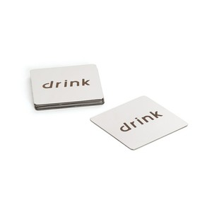 Set Of Six Drink Coasters
