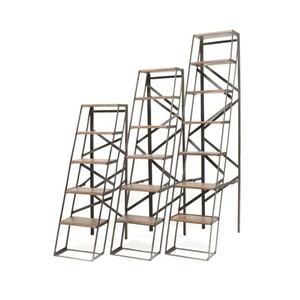 Iron and Wood Ladder Etagere | Park & Main