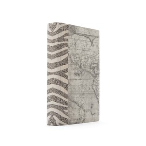 Linear Foot of Ivory Zebra Books | Park & Main