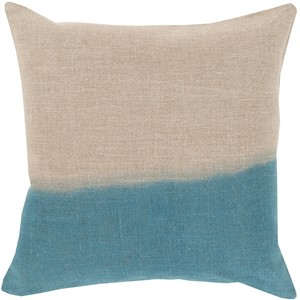 Dip Dyed Throw Pillow