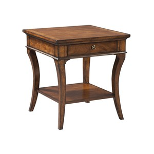 European Legacy Square End Table