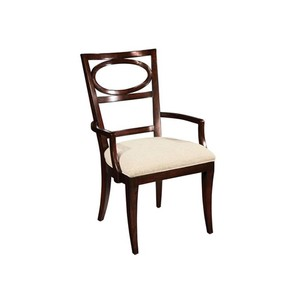 Central Park Oval Back Arm Chair