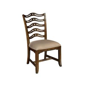 Vintage European Ladder Back Side Chair
