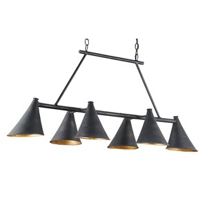 Culpepper Rectangular Chandelier | Currey & Company