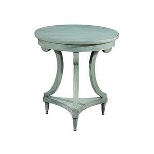 Round Painted Table